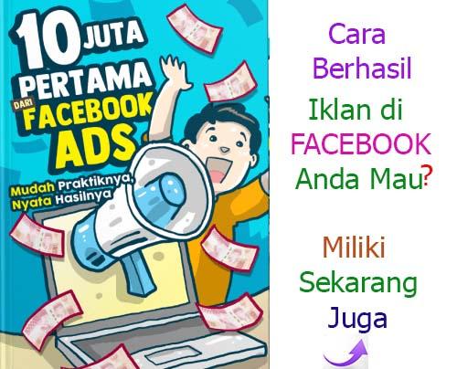 10 Juta Pertama dengan Facebook Ads