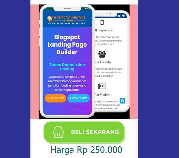 Blogspot Landing Page Builder