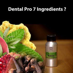 Kandungan Dental Pro 7 menghambat Covid 19