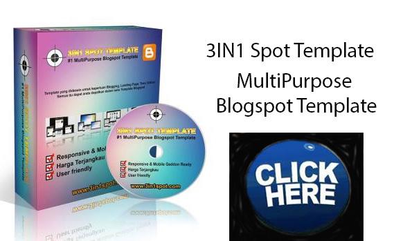 Multi Purpose Blogspot Template